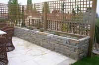 Maconnerie paysagere for Jardiniere en pierre seche